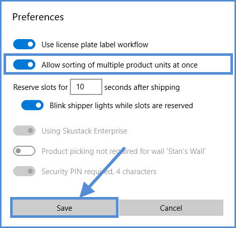 sellercloud skublox switching preferences
